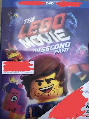 The Lego Movie 2 The Second Part (2019) Dvd Disc Only - New, Never Used