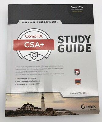 CompTIA CySA+ Study Guide Exam CS0-001 by Mike Chapple 9781119348979