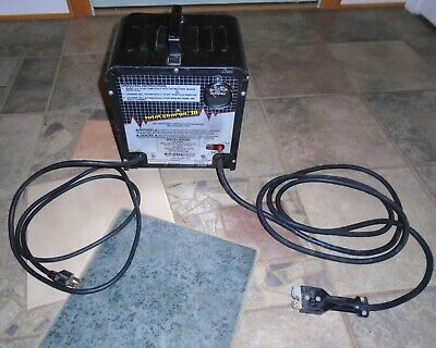 EZ GO TEXTRON Total Charge Lll 36v Golf Cart Battery Charger E Z GO Model 26984
