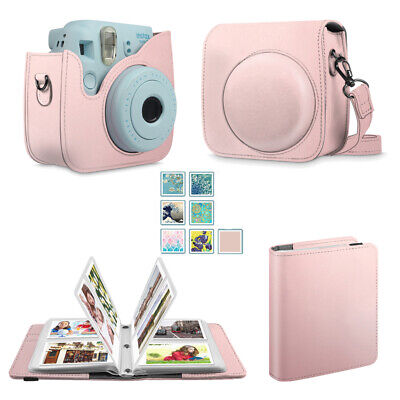 Fintie Protective Case for Fujifilm Instax Mini 8/8+/9 + 104 Pockets Photo Album