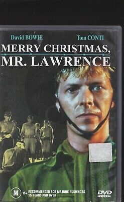 Merry Christmas Mr Lawrence Dvd Movie David Bowie Military Ww2