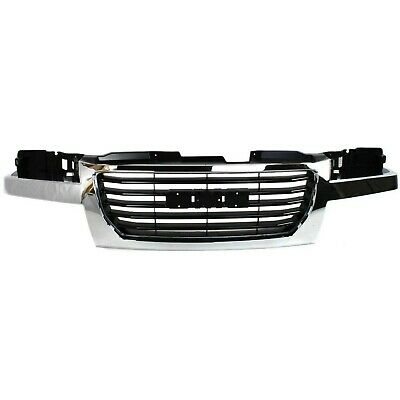 New Grille Chrome Frame Front for GMC Canyon 2004-2012 GM1200530 2-Door-4-Door