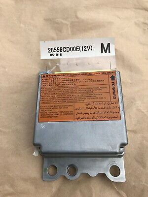 2006 NISSAN 350Z Coupe Srs Airbag Control Module Computer