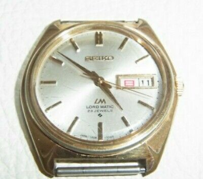 SEIKO SUPER RARE Antique Vintage Mens Watch Automatic Contribution from minister