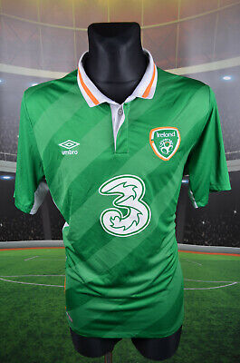 Ireland Eire Umbro 2016-17 Home Football Shirt Xl Jersey Top Trikot Xlarge Mens