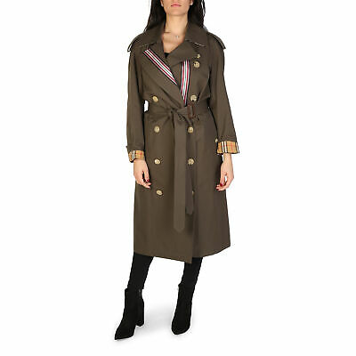new concept 18a8c 3043c BURBERRY TRENCH CAPPOTTO Verde Donna