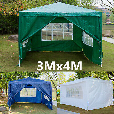 3x4M Garden Outdoor Canopy Portable Cover Gazebo Garage Shelter Tent Waterproof