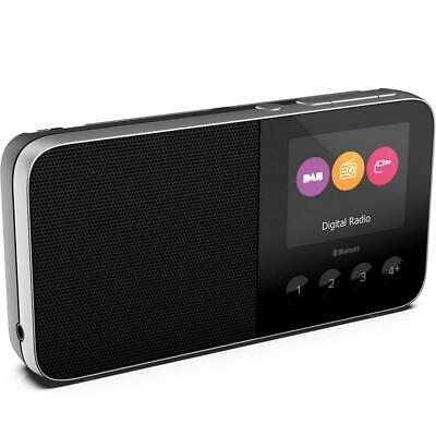 Pure UK Move T4 Pocket Rechargeable Personal DAD/DAB+/FM Radio with Black