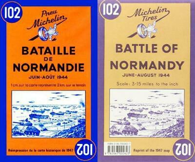 Battle of Normandy - Michelin Historical Map 102: (Michelin Historical...