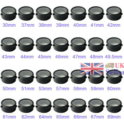 New Dustproof Scope Cover Lens Transparent Covers Caps Fit Airsoft Scope Hunting