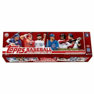 2019 Topps Complete 700 Card Set ( Series 1 And 2 ) Housed In Factory Set Box