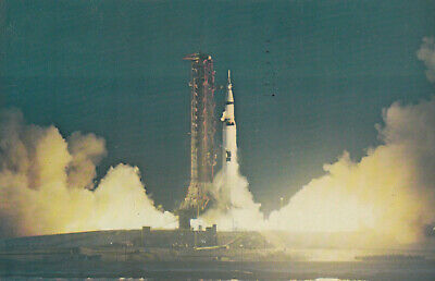 ORLANDO, Florida, PU-1968; Kennedy Space Center, NASA, SATURN 501 Lift Off