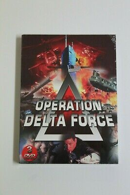 OPERATION DELTA FORCE - 3 DVD's  Idioma Frances. NUEVO EN BLISTER.
