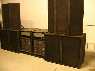 """YOUR NEXT STEP PA SYSTEM: EV Eminence P Audio 2"""". Rock The Show!!! 10,000 watts."""