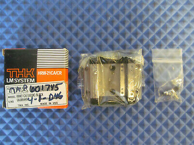 NOS THK Linear Guide Carriage HRW21CA1UU(GK) Free Shipping