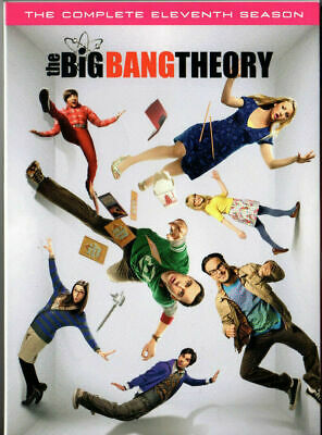 The Big Bang Theory: The Complete Eleventh Season 11 (DVD) FREE EXP 2-3 SHIPPING