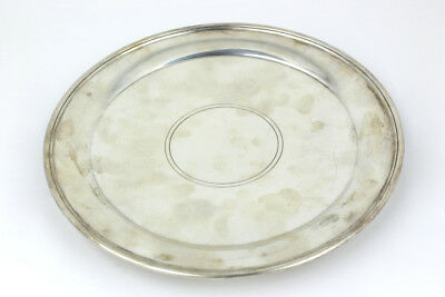 Vintage Tiffany & Co Sterling Silver Footed Plate #22611