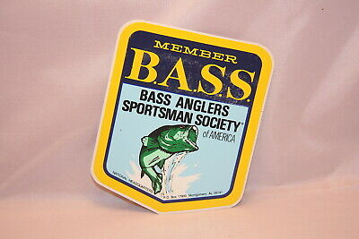 Bass Anglers Sportsman Society Sticker