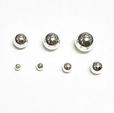 Sterling Silver seamless Bead 1.8mm,2mm,2.5mm,3mm