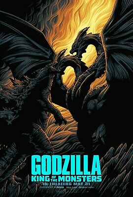 Godzilla King Of the Monsters movie poster (n) - 11 x 17 (2019)