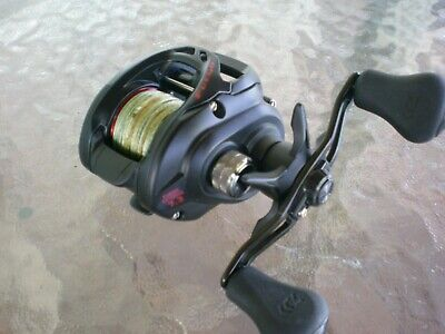 c1918358f55 Daiwa Fuego CT 100HS 7.3:1 Right Hand Bait Casting Reel with Daiwa 30 lb