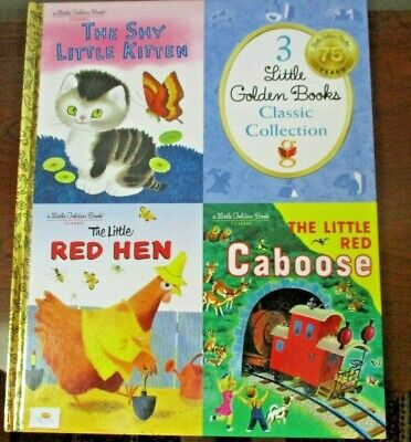 3 Little Golden Books Classic Collection Kohl's Cares Book