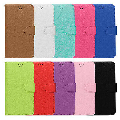 Silicone Inner PU Leather Wallet Case Cover For For HTC Desire 650