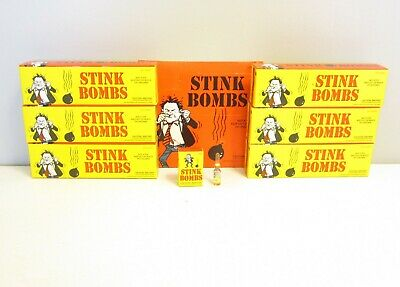 216 Stink Bombs Glass Vials Stinky Smelly  Fart Gas Bomb Smell Wholesale Lot