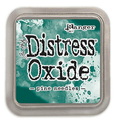 Tim Holtz Distress Oxide Ink Pad Pine Needles