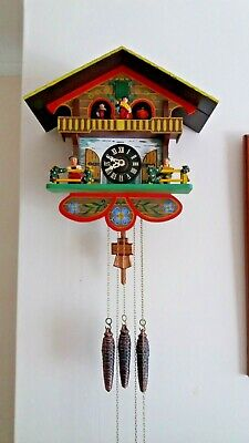 Vintage musical 30 hour cuckoo clock for spares/repair