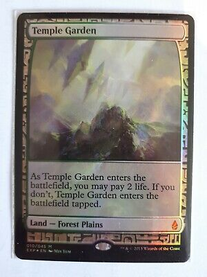 Mtg temple garden expo x 1 nr mint condition
