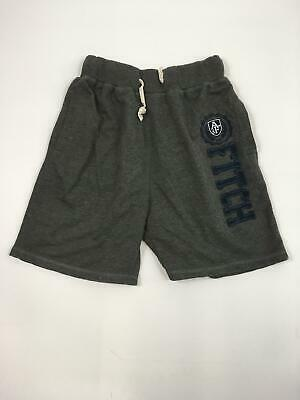 Boys Abercrombie & Fitch Dark Grey Drawstring Waist Lounge Sweat Shorts Large