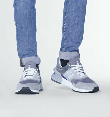 coupon code cheap for sale sneakers MENS NEW BALANCE MS997 Motion Control Stone Grey Trainers ...