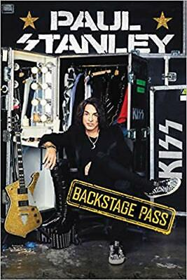 Backstage Pass by Paul Stanley HARDCOVER 2019