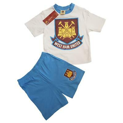 West Ham Utd Football Club Pyjama Age 12 months to 4 years Gift Boys Nightwear