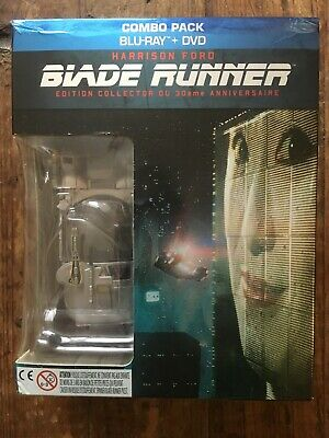 BLADE RUNNER COFFRET COMBO BLU-RAY / DVD EDITION COLLECTOR 30ème ANNIVERSAIRE
