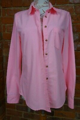 RRP Topshop Moto Fitted Western Shirt UK Size 10 £29.00