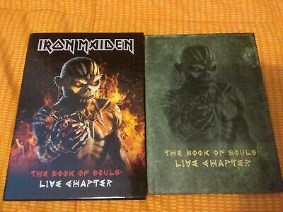 Audio Cd Iron Maiden - The Book Of Souls: Live Chapter (Deluxe)
