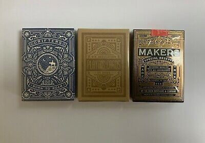 Drifters DKNG Green and Makers Playing Cards from Dan and Dave Art of Play