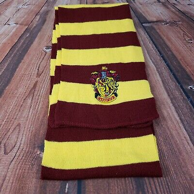 Harry Potter Vouge Gryffindor House Cosplay Knit Wool Costume Scarf Red Yellow