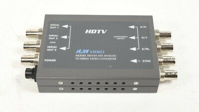 AJA Video HD10A HD Analog to Serial HD-SDI Converter - Missing AC