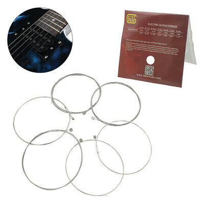 6pcs E101 Electric Guitar Strings Nickel Alloy Wound String Instrument String np