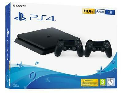 Consoles Games - Ps4 1Tb F Chassis + 2 Dualshock