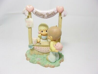 Precious Moments Kissing Booth Porcelain Figurine 2003 Country Fair Carnival