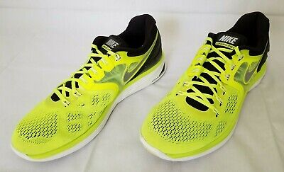 new style f0a71 8d098 Mens Size 14 Green Black Nike Lunareclipse 4 Running Shoes 629682 701  preowned
