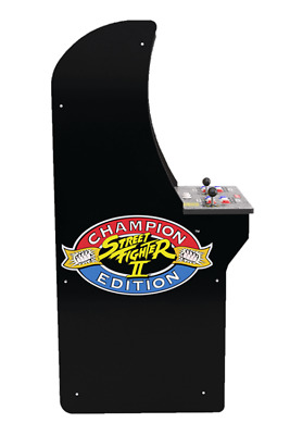 Arcade1Up - Street Fighter Replacement Side Panel - Part D or E