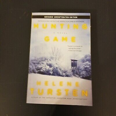 [3A12 LH] Hunting Game by Helene Tursten ARC Uncorrected Proof Paperback