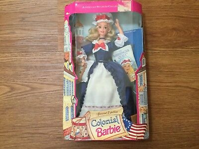 1994 AMERICAN STORIES SERIES Special Edition Colonial Barbie NRFB