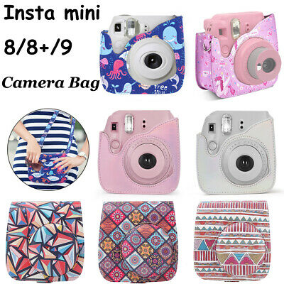 For Fujifilm Instax Mini 8 8+ 9 Film Camera Carrying Bag Shoulder Case Cover WN