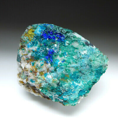 **CALEDONITE & LINARITE - Reward Mine, California, USA 6cm